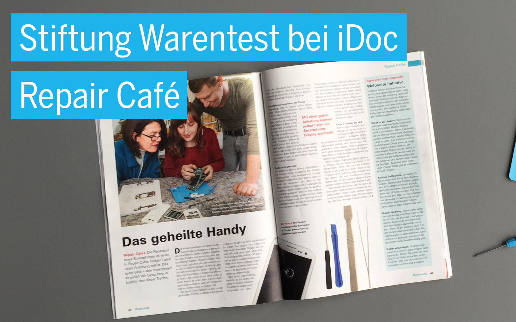 Dating cafe Stiftung Warentest