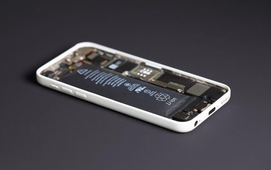 Akku bläht sich auf im iPhone 5C