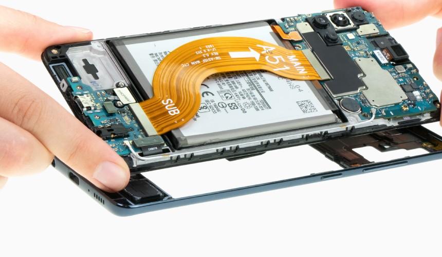 Repair Review: Mittelrahmen des Samsung Galaxy A51