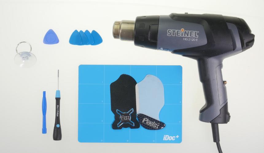 Werkzeuge für eine rEparatur am S21