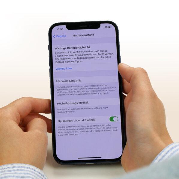 iPhone Fehlermeldungen nach Reparatur