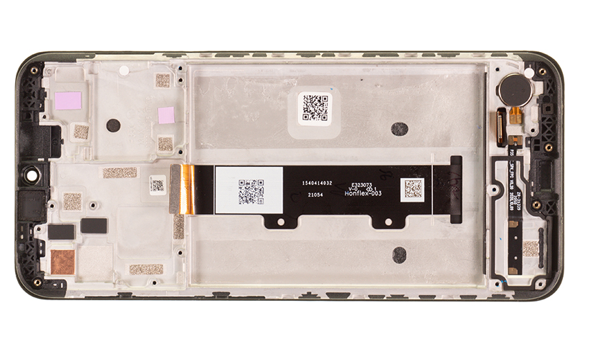 Das Display- und Verbindungskabel sind beim Motorola moto g10 bereits in der Displayeinheit integriert