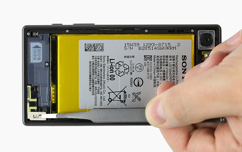 Sony Xperia Z5 Compact - Replacing the main antenna repair