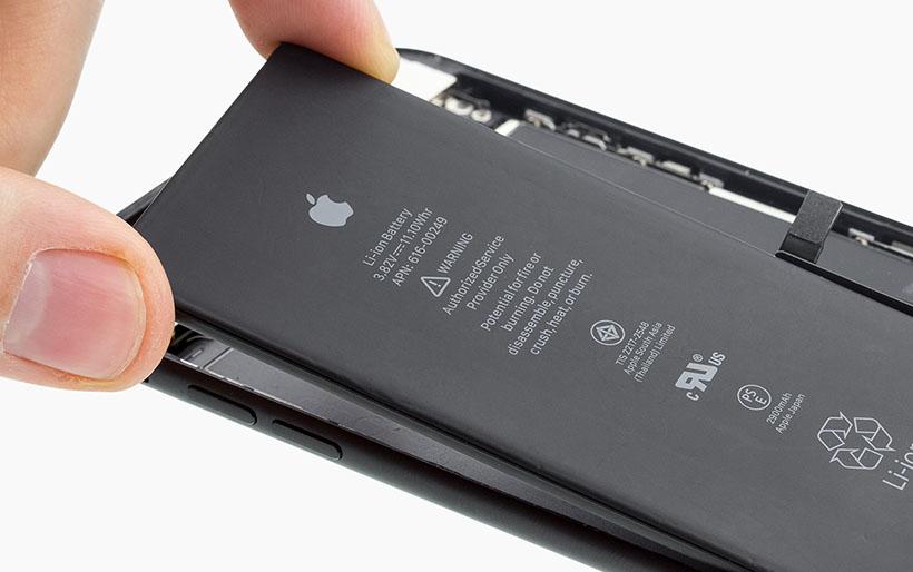 apple iphone 7 plus austausch des akkus anleitung idoc. Black Bedroom Furniture Sets. Home Design Ideas