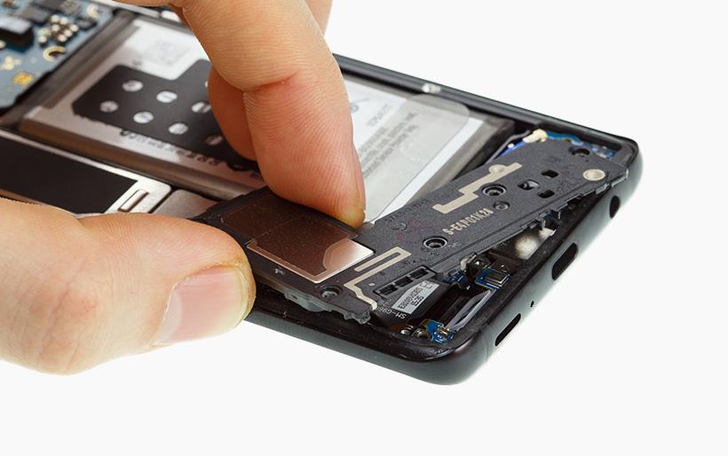 Samsung Galaxy S9 Lautsprecher Tauschen Reparaturanleitung Idoc