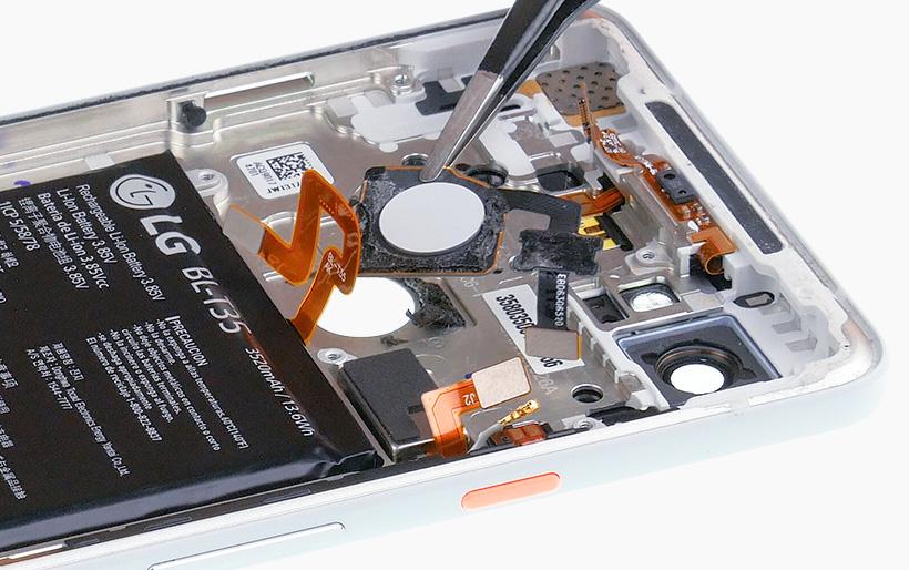 Pixel 2 XL fingerprint sensor replacement - iDoc