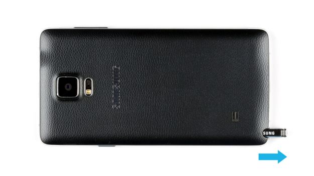 Guide de réparation de la batterie du Samsung Galaxy Note 4